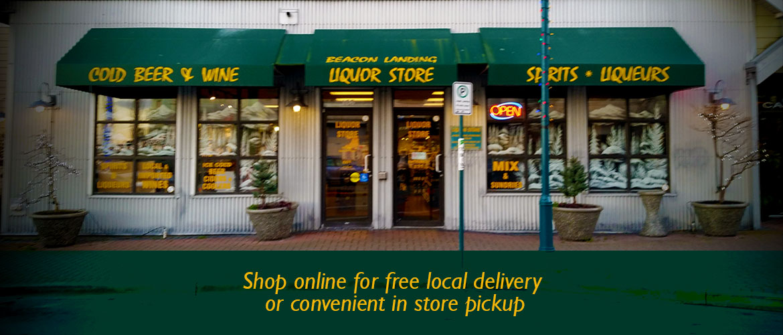 Shop Online with Beacon Landing Liquor Store